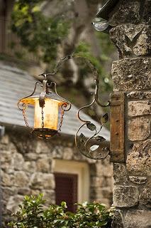 Ornate Lantern, Edinburgh, Scotland